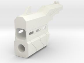 Proctor Barrel for Nerf HammerShot in White Natural Versatile Plastic