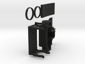 Sensor mount for - Sharp IR Sensor GP2Y0A21YK0F In in Black Natural Versatile Plastic