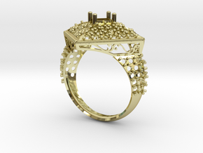 Gold ring in 18K Yellow Gold: 8 / 56.75