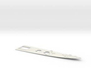 1/350 Heavy Cruiser Furutaka (1942) Bow Deck in White Natural Versatile Plastic