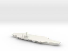 1/1800 Scale USS John F Kennedy CV-67 in White Natural Versatile Plastic