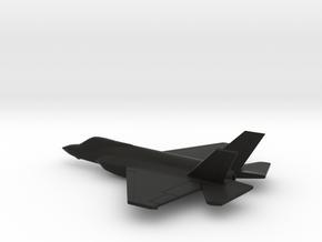 Lockheed Martin F-35C (w/o landing gears) in Black Natural Versatile Plastic: 1:200
