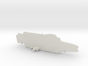1/1250 Scale USS John F Kennedy CV-67 in White Natural Versatile Plastic