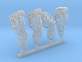 Royal fists energy fists in Smoothest Fine Detail Plastic