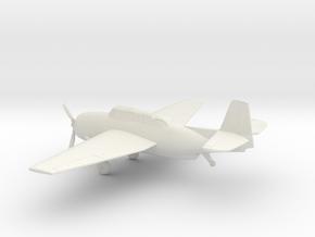 Grumman TBF Avenger / General Motors TBM in White Natural Versatile Plastic: 1:72