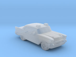 Chevrolet Police Car 1957 in Smooth Fine Detail Plastic