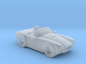 Shelby Cobra in Smooth Fine Detail Plastic