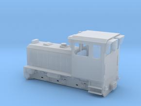 TSC & W&LLR Diema Diesel Locomotive Body in Smoothest Fine Detail Plastic