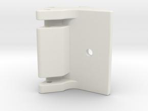 Schnellwechselaufnahme für Bodenrecycler Radlader  in White Natural Versatile Plastic: 1:50