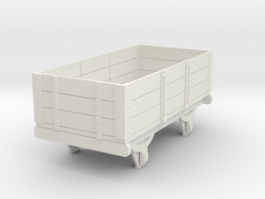 0-re-43-eskdale-3-plank-wagon in White Natural Versatile Plastic