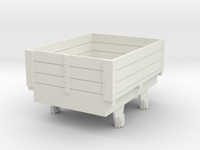 0-re-32-eskdale-ore-wagon in White Natural Versatile Plastic