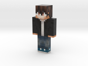 Darthnater4ever | Minecraft toy in Natural Full Color Sandstone