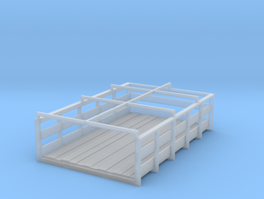 slatted box for 41-46 truck models in Smoothest Fine Detail Plastic