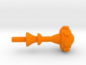 Motuc weapon for Transformers in Orange Processed Versatile Plastic