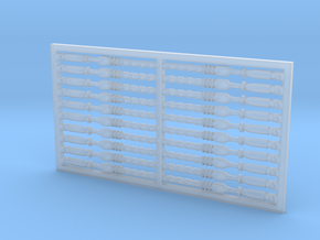 Chain Binder 20 Pack 1-64 Scale in Smooth Fine Detail Plastic