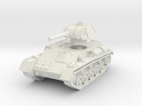 T-70 Light Tank 1/72 in White Natural Versatile Plastic
