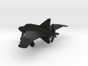 Northrop XP-56 Black Bullet in Black Natural Versatile Plastic: 1:200