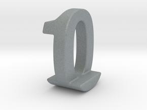 Zero One Pendant in Polished Metallic Plastic