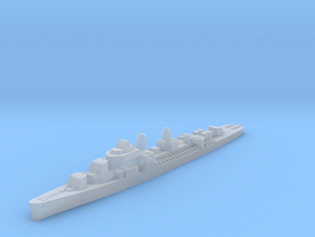 USS Lindsey destroyer ml 1:2400 WW2 in Smoothest Fine Detail Plastic