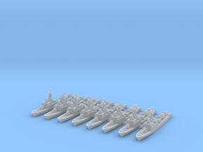 La Combattante III (FUD) in Smooth Fine Detail Plastic: 1:1800