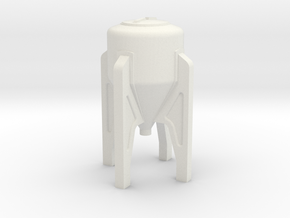 Inductor Tank 35 Gallon in White Natural Versatile Plastic