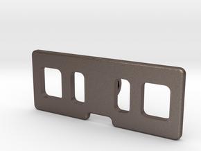 DJI Mavic Crystalsky monitor folder  with DJI Crys in Polished Bronzed-Silver Steel