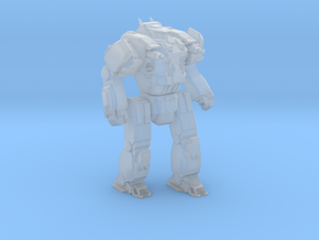 Medium Mech GhostWolf in Smooth Fine Detail Plastic