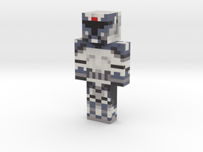 Commander Wolffe | Minecraft toy in Natural Full Color Sandstone