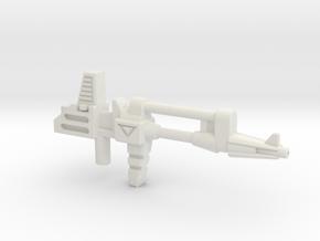 Inferno/Grapple Rifle (5mm) in White Natural Versatile Plastic: Medium