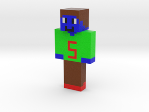 squideverett | Minecraft toy in Natural Full Color Sandstone