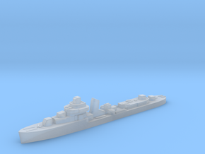 Brazilian Ajuricaba destroyer 1:2400 WW2 in Smoothest Fine Detail Plastic