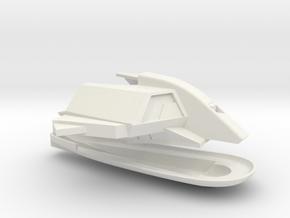 1/1000 USS Ranger Neck & Bridge Detailed in White Natural Versatile Plastic
