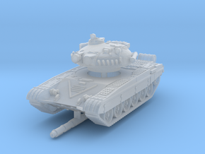 T-72 A 1/285 in Smooth Fine Detail Plastic