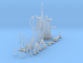 1/32 DKM U-Boot VIIC Conning Tower Detail KIT in Smooth Fine Detail Plastic
