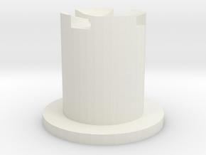 2.4 module button in White Natural Versatile Plastic