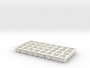 icetray1 in White Natural Versatile Plastic
