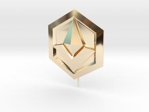 The Bazaar Merchant Pin in 14k Gold Plated Brass