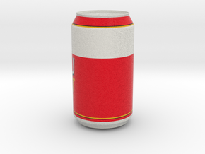 Beer Can in Natural Full Color Sandstone