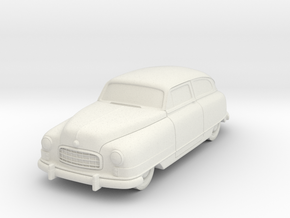 1949 Nash Ambassador 2 Door in White Natural Versatile Plastic