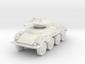Sdkfz 234-1 early 1/87 in White Natural Versatile Plastic