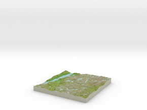 Terrafab generated model Sat May 24 2014 10:31:09  in Full Color Sandstone