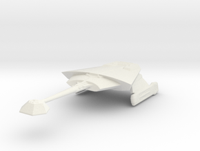 Klingon L9 in White Natural Versatile Plastic