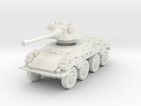 Sdkfz 234-2 Puma 1/76 in White Natural Versatile Plastic