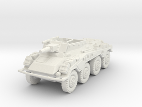 Sdkfz 234-3 1/87 in White Natural Versatile Plastic
