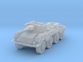 Sdkfz 234-3 1/220 in Smooth Fine Detail Plastic