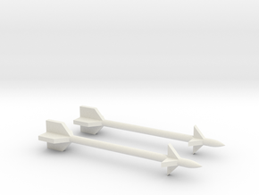 1/48 Scale Derby Missile in White Natural Versatile Plastic