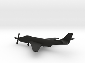 McDonnell XF-88B Voodoo in Black Natural Versatile Plastic: 1:200