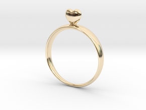 Loving You 45 in 14K Yellow Gold