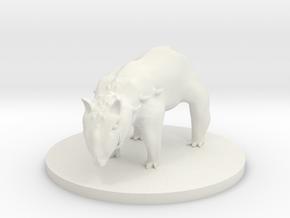 Tapir - Enhanced Tapir in White Natural Versatile Plastic