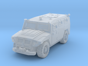 GAZ 2330 in Smoothest Fine Detail Plastic: 1:200